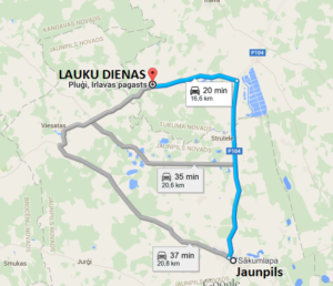 Jaunpils - ZSA Lauku dienas